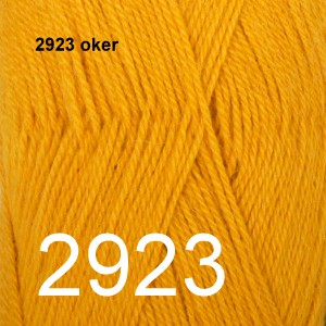 Alpaca Uni Colour 2923 oker
