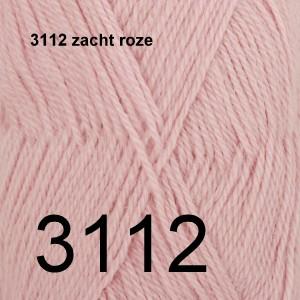 Alpaca Uni Colour 3112 zacht roze