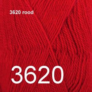 Alpaca Uni Colour 3620 rood