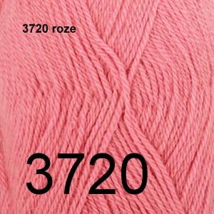 Alpaca Uni Colour 3720 roze