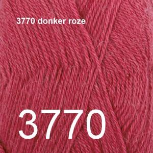 Alpaca Uni Colour 3770 donker roze