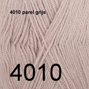 Alpaca Uni Colour 4010 parel grijs