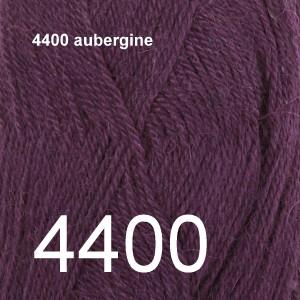 Alpaca Uni Colour 4400 aubergine