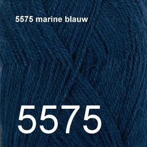 Alpaca Uni Colour 5575 marine blauw