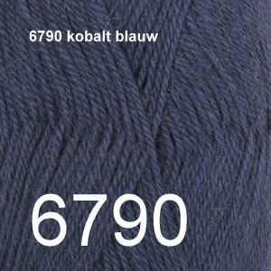 Alpaca Uni Colour 6790 kobalt blauw