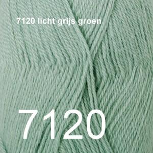 Alpaca Uni Colour 7120 licht grijs groen