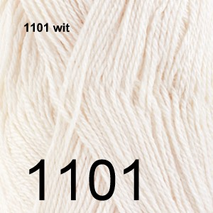 BabyAlpaca Silk 1101 wit