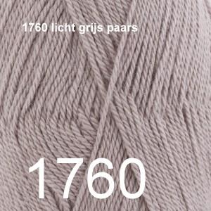 BabyAlpaca Silk 1760 licht grijs paars