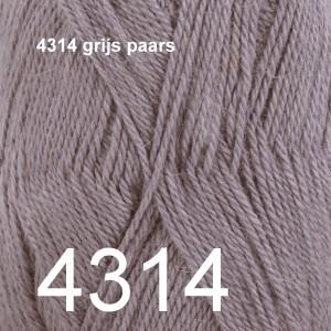 BabyAlpaca Silk 4314 grijs paars