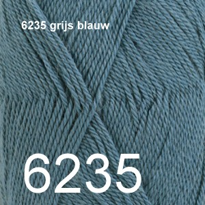 BabyAlpaca Silk 6235 grijs blauw