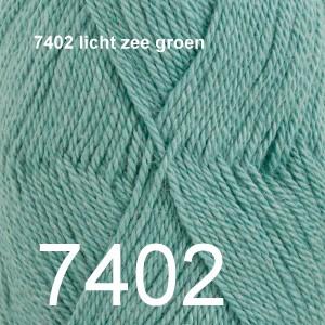 BabyAlpaca Silk 7402 licht zee groen