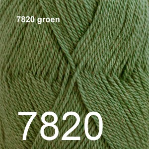 BabyAlpaca Silk 7820 groen