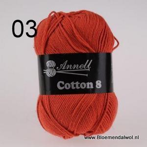 ANNELL Coton 8 -03
