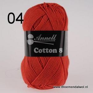 ANNELL Coton 8 -04