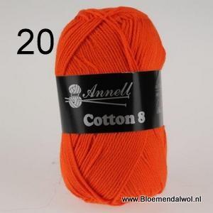 ANNELL Coton 8 -20