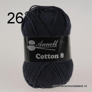 ANNELL Coton 8 -26