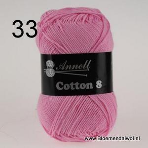 ANNELL Coton 8 -33