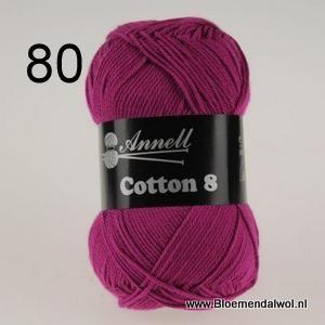 ANNELL Coton 8 -80