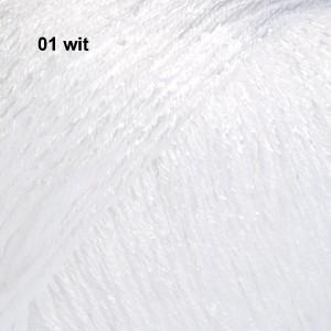 Cotton Viscose 01 wit