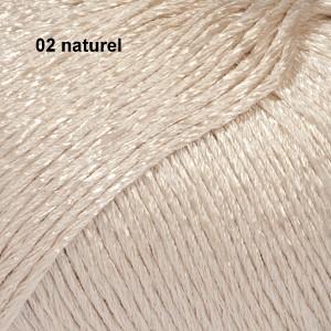 Cotton Viscose 02 naturel