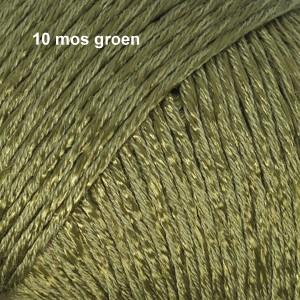 Cotton Viscose 10 mos groen