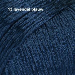 Cotton Viscose 13 lavendel blauw