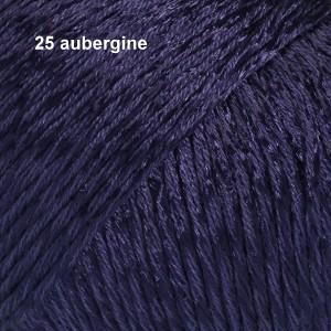Cotton Viscose 25 aubergine