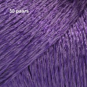 Cotton Viscose 30 paars