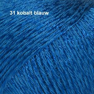 Cotton Viscose 31 kobalt blauw