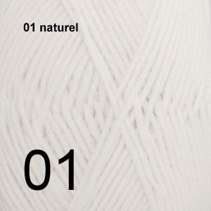 Merino Extra Fine 01 naturel