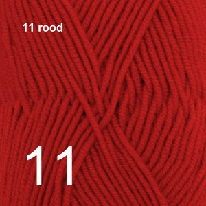 Merino Extra Fine 11 rood