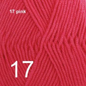 Merino Extra Fine 17 pink