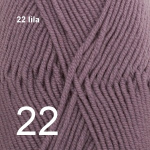 Merino Extra Fine 22 lila
