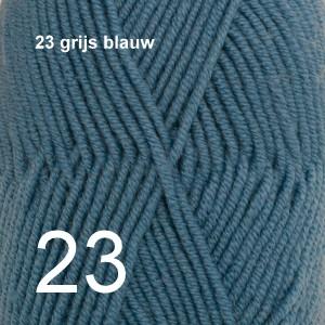 Merino Extra Fine 23 grijs blauw