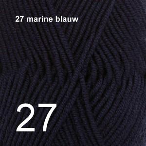 Merino Extra Fine 27 marine blauw